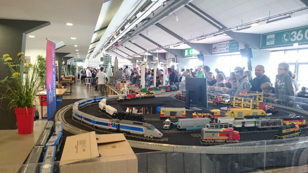 Lego MOC – Exposition Briqu'expo à Lyon - Train Lego