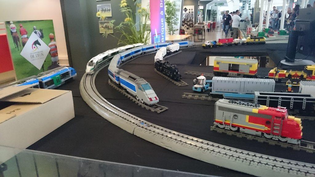 Lego MOC – Exposition Briqu'expo à Lyon - Train Lego 4