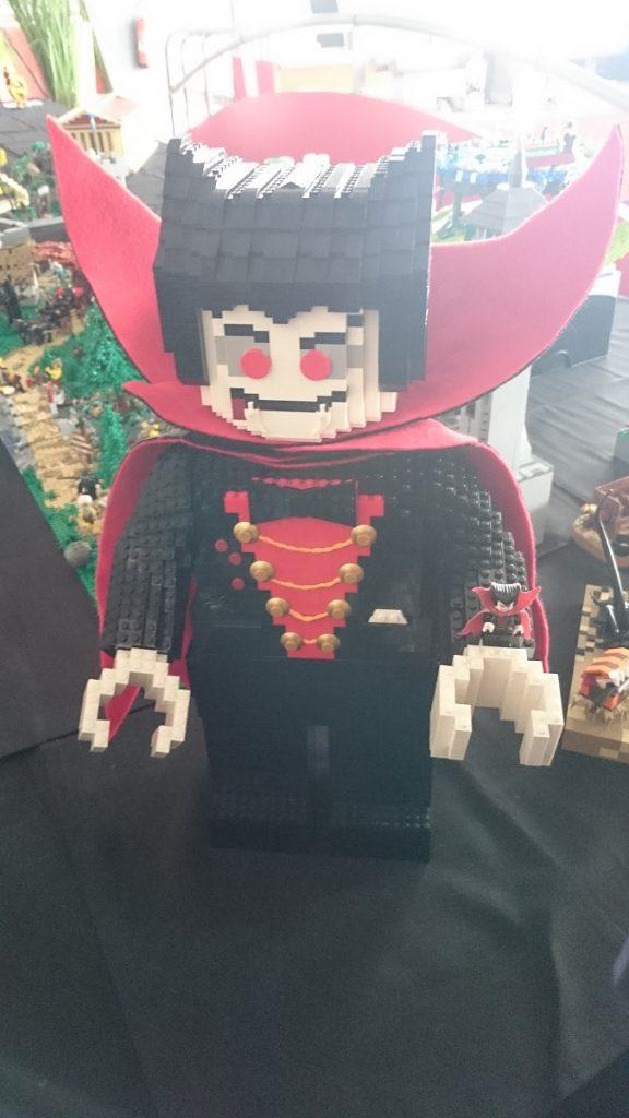 Lego MOC – Exposition Briqu'expo à Lyon - Vampire géant
