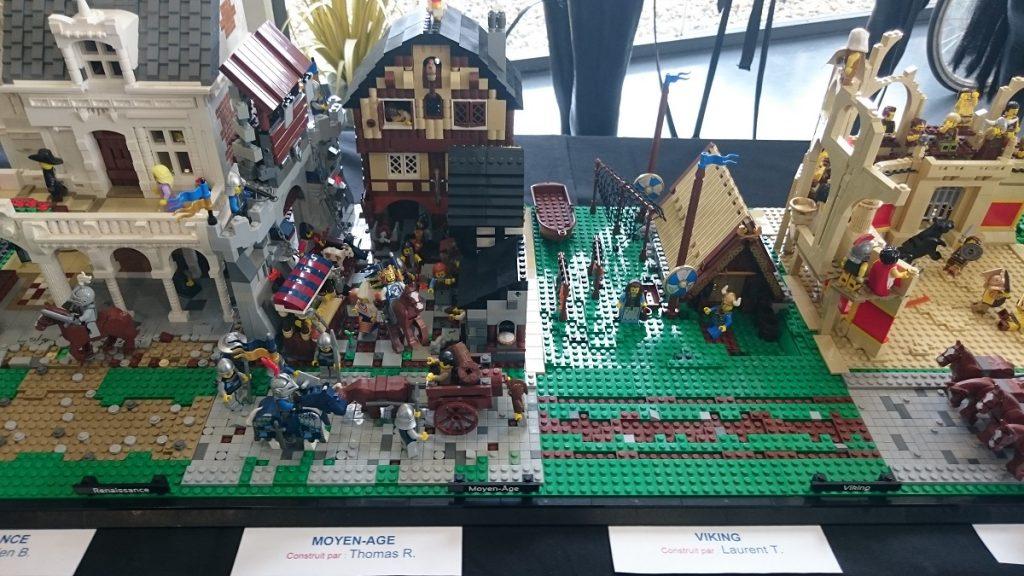 Lego MOC – Exposition Briqu'expo à Lyon - Vikings et Moyen-âge