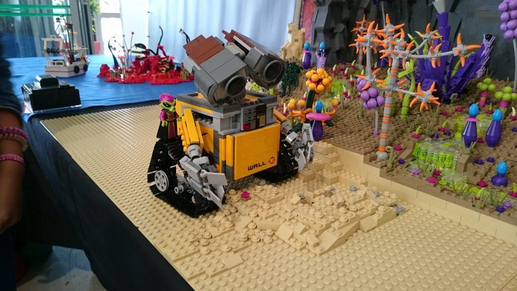Lego MOC – Exposition Briqu'expo à Lyon - Wall-E