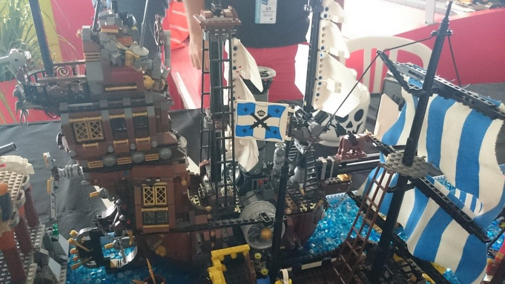 Lego MOC – Exposition Briqu'expo à Lyon - Bateau pirate
