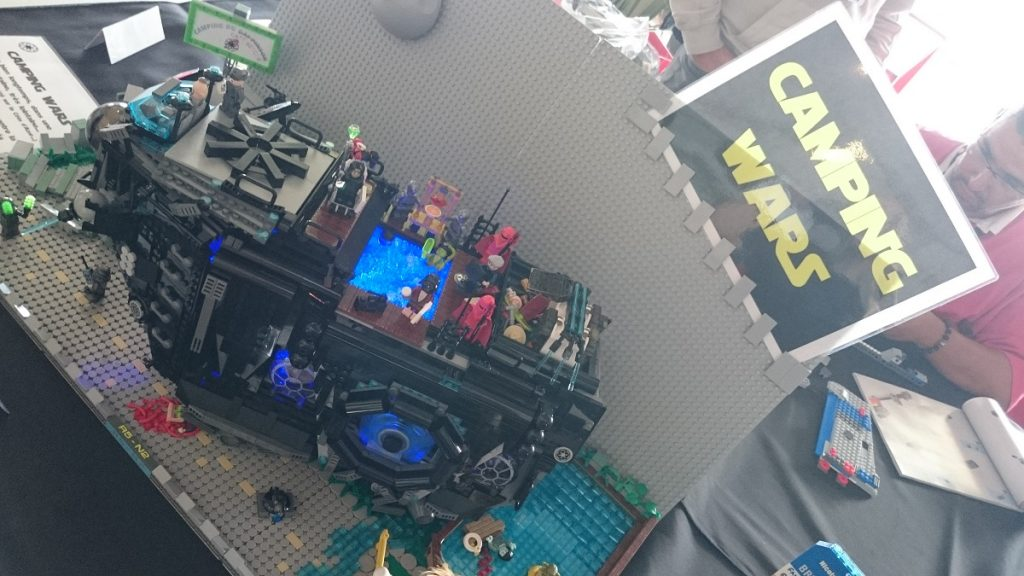 Lego MOC – Exposition Briqu'expo à Lyon - Camping Wars