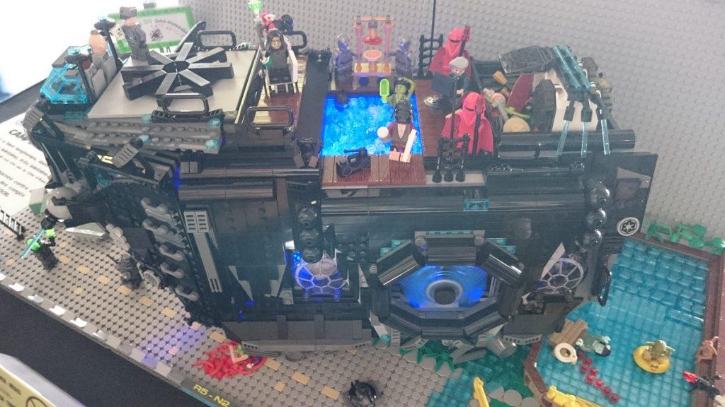 Lego MOC – Exposition Briqu'expo à Lyon - Camping Wars 2
