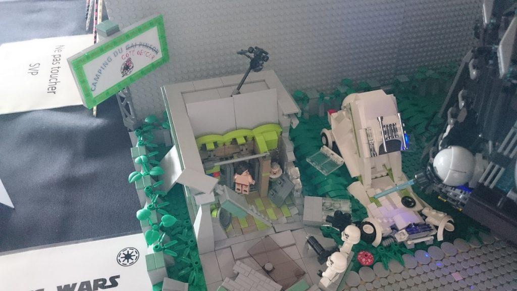 Lego MOC – Exposition Briqu'expo à Lyon - Camping Wars 4