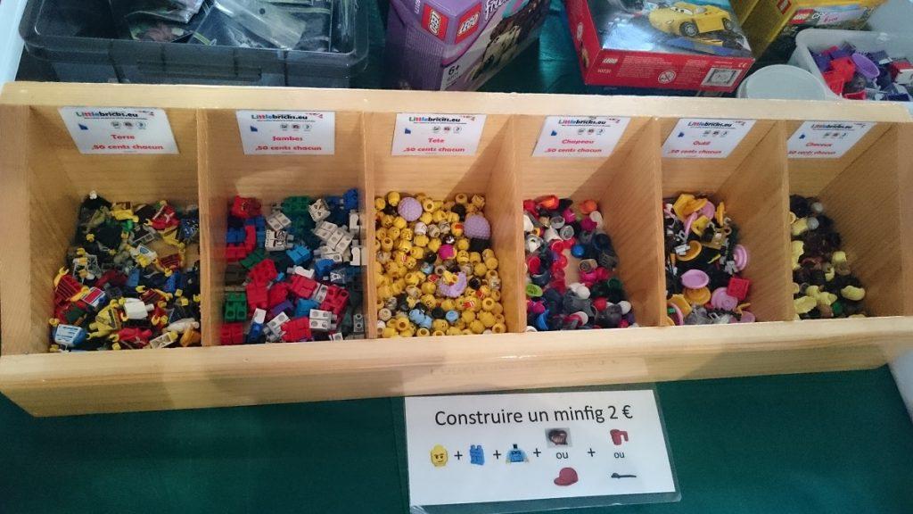 Lego MOC – Exposition Briqu'expo à Lyon - Construire sa mini figurine
