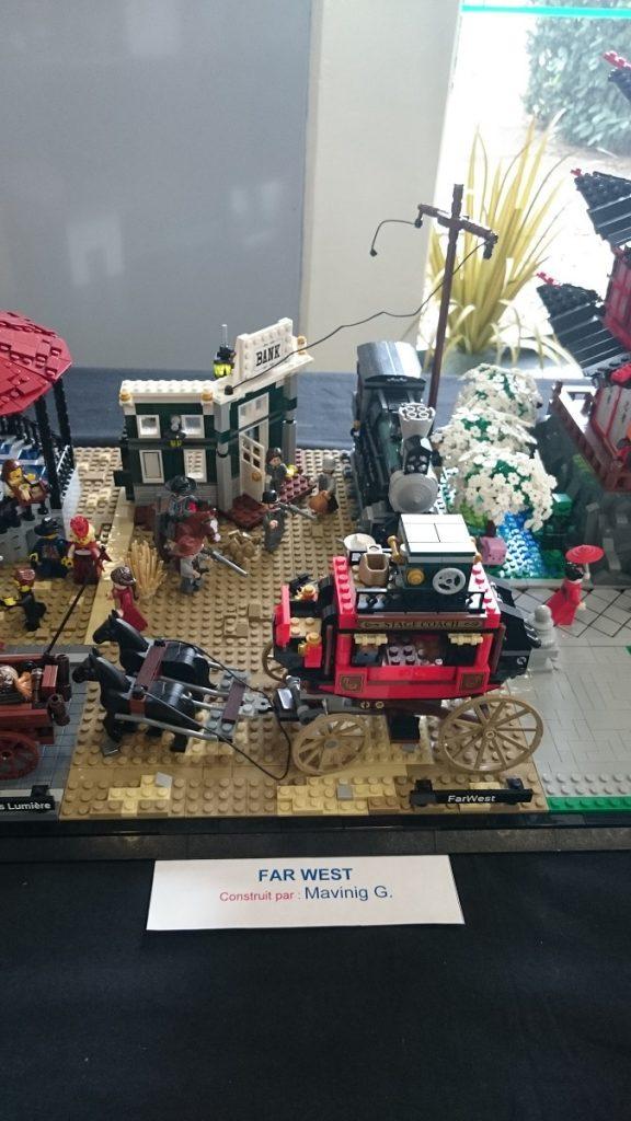 Lego MOC – Exposition Briqu'expo à Lyon - Far West