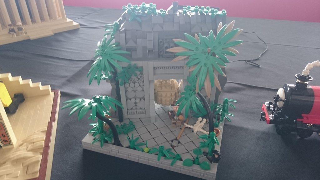 Lego MOC – Exposition Briqu'expo à Lyon - Indiana Jones