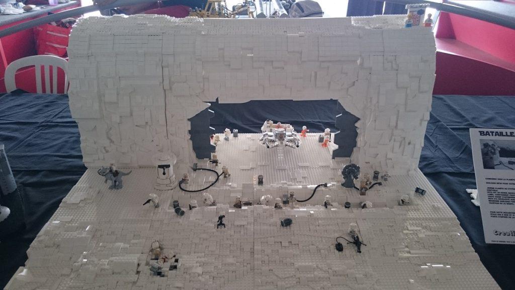 Lego MOC – Exposition Briqu'expo à Lyon - MOC Lego Star Wars - La bataille de Hoth