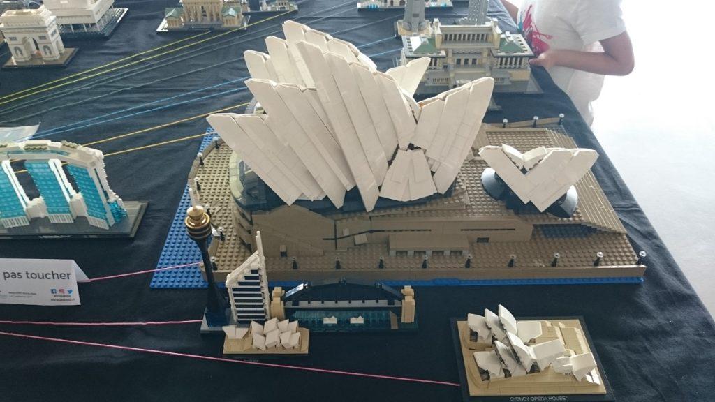 Lego MOC – Exposition Briqu'expo à Lyon - Opéra de Sidney