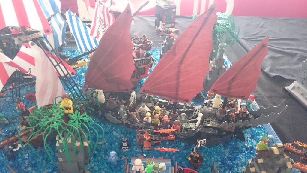 Lego MOC – Exposition Briqu'expo à Lyon - Pirates 1