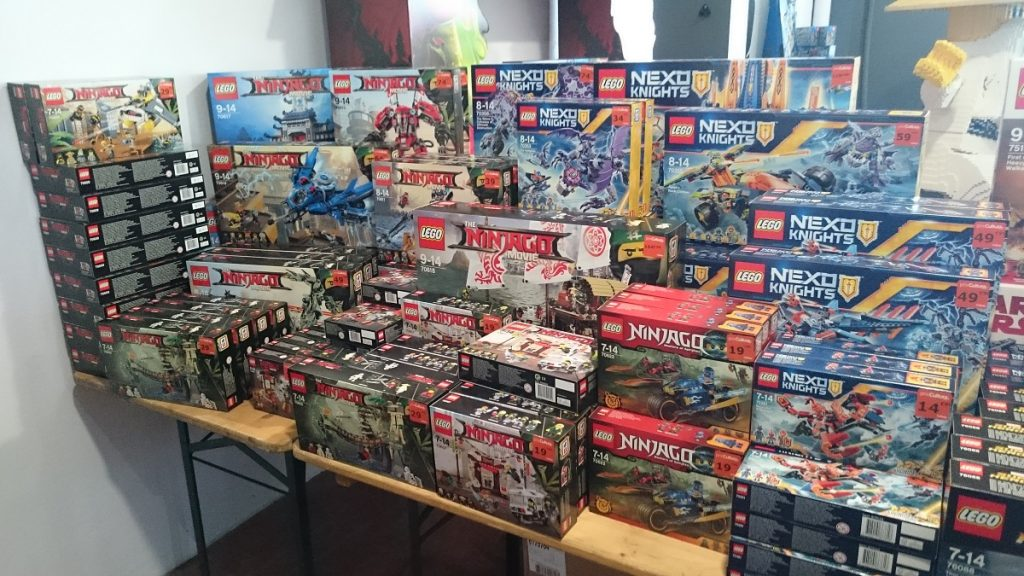 Lego MOC – Exposition Briqu'expo à Lyon - Stand Cultura 2