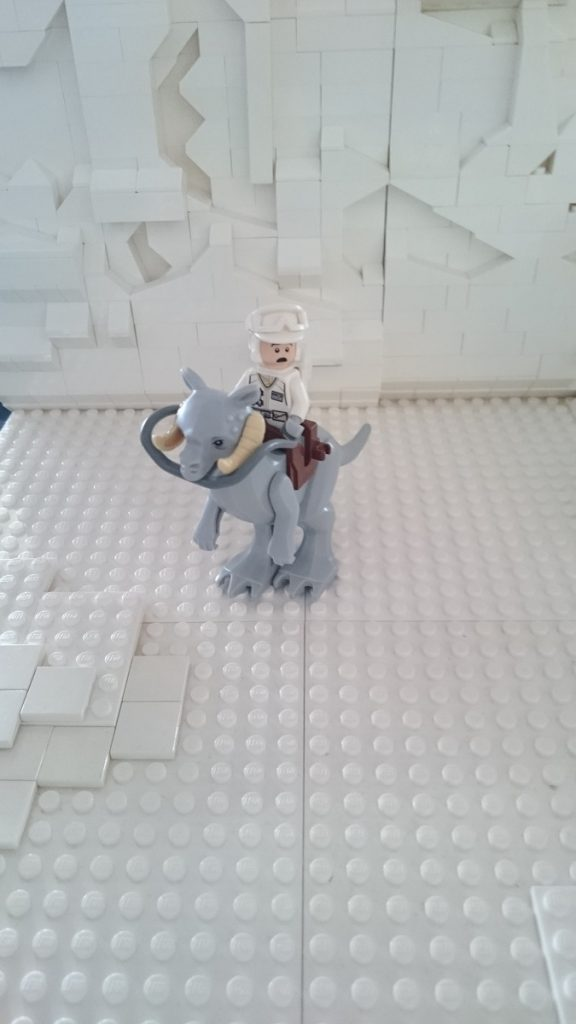 Lego MOC – Exposition Briqu'expo à Lyon - MOC Lego Star Wars - La bataille de Hoth - Créature