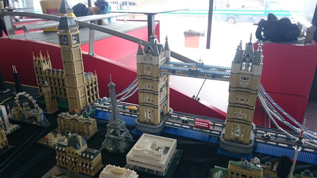 Lego MOC – Exposition Briqu'expo à Lyon - Tower Bridge et Big Ben