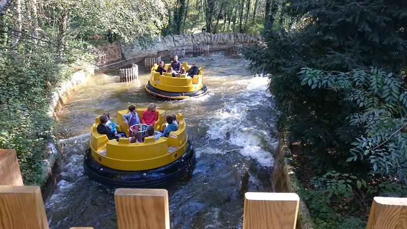 Découverte et avis sur Walibi Rhône-Alpes - Attraction Gold River 2