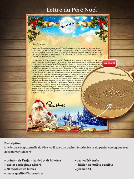 Lettre Au Pere Noel Personnalise.Comment Recevoir Une Lettre Personnalisee Du Pere Noel Avec