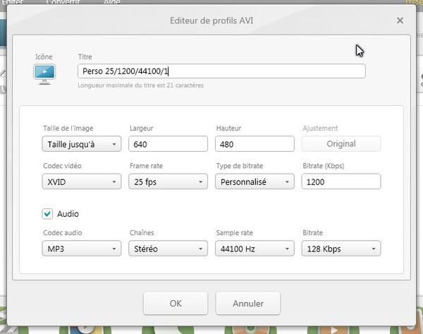 Freemake Video converter tutoriel et astuces - Changer la taille de la vidéo