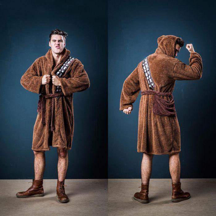 Idées cadeaux de noël - peignoir Chewbacca