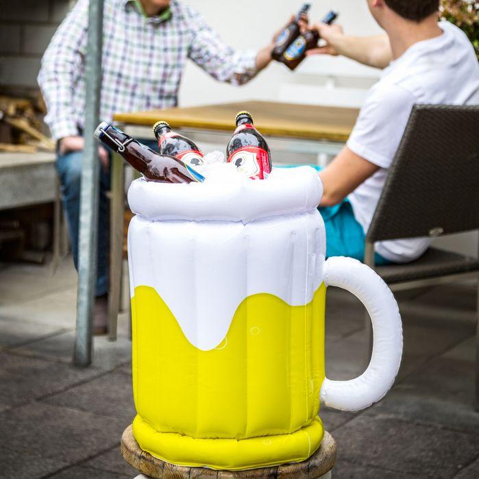 Idées cadeaux de noël - seau gonflable à bière