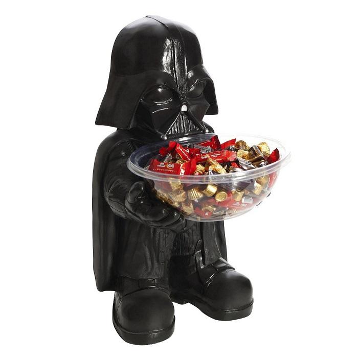 Pot à bonbons Dark Vador avec saladier-coupelle