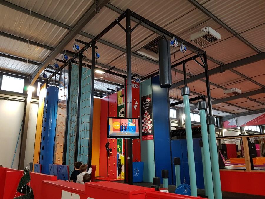 Salle de jeu pour enfants Exalto - Test et avis - L'espace fun climbing