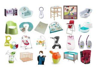 Quelle liste de matériel acheter pour l'arrivée de bébé