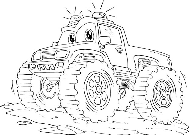 Coloriages Blaze et les Monster Machines -