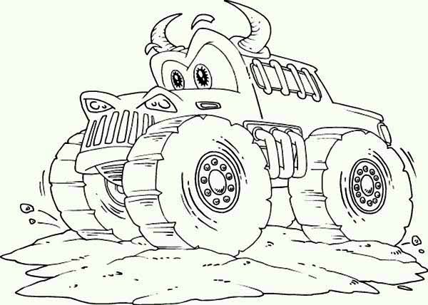 Coloriages Blaze et les Monster Machines - 2