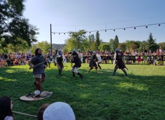 Campement viking à Lyon - Présentation d'un campement et des coutumes viking