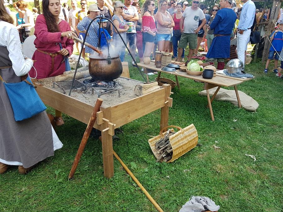 Campement viking à Lyon - Le centre du campement 2