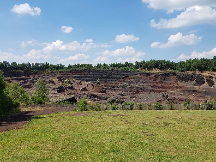 Volcan de Lemptégy - Vue globale du site