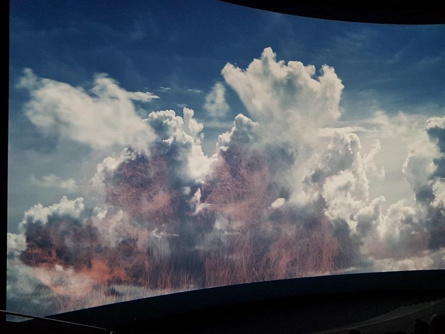 Vulcania, découverte et avis - Attraction Ouragan 2