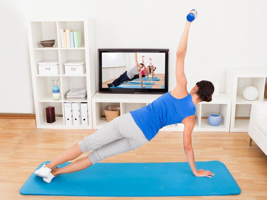 Sport au quotidien à la maison et au travail