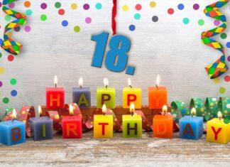 Conseils pour fêter un anniversaire de 18 ans