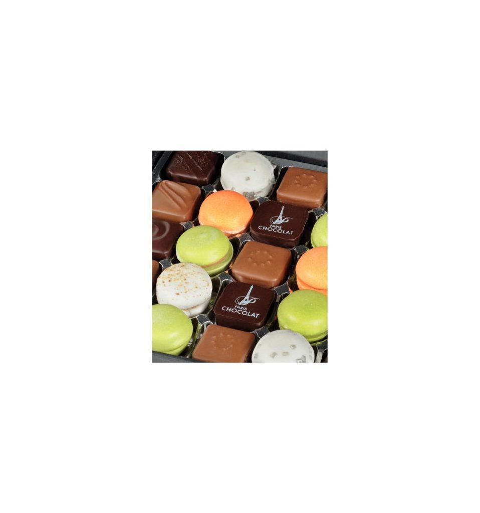 Cadeau femme - Boite chocolats coffret Flore