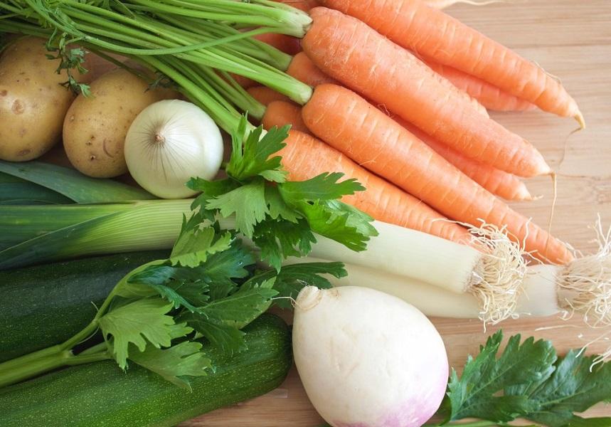 Légumes pour soupes pour enfants