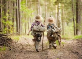 Choisir son matériel pour une randonnée avec les enfants !