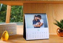 calendrier photo personnalisé : le classique revisité
