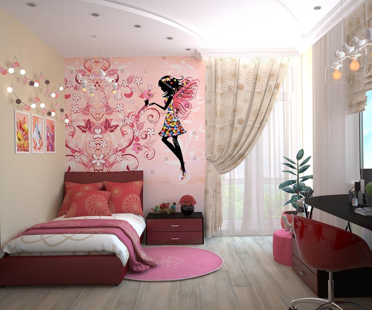 comment bien d corer une chambre d enfants avec des stickers. Black Bedroom Furniture Sets. Home Design Ideas