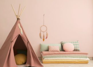 Idées de cabanes pour enfants ou tipis, à acheter ou construire
