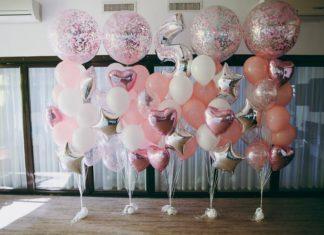 Anniversaire 8 ans - ballon lettre - idées décoration