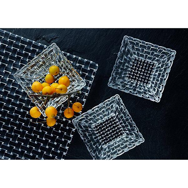 Ma sélection de cadeaux de noël en cristal - Assiette en cristal Bossa Nova