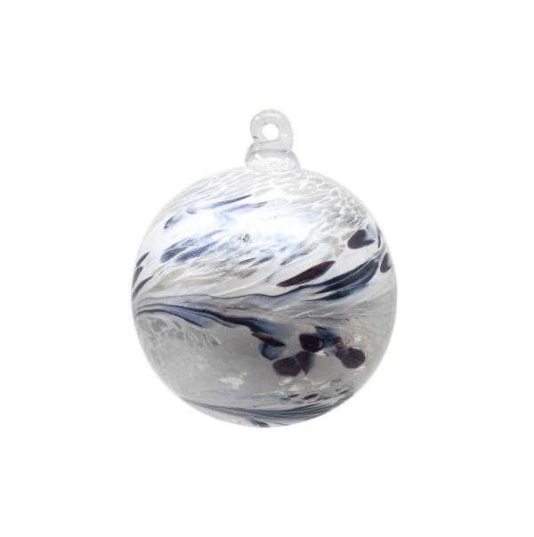 Ma sélection de cadeaux de noël en cristal - Boule de cristal en argent