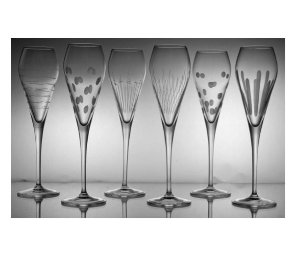 Ma sélection de cadeaux de noël en cristal -flutes en cristal artisanal