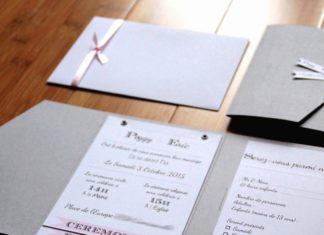 Choix enveloppe faire-part mariage