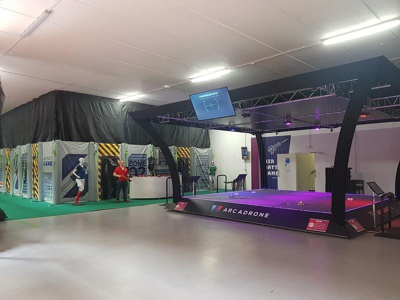 Exalto - Drones et Laser Ball