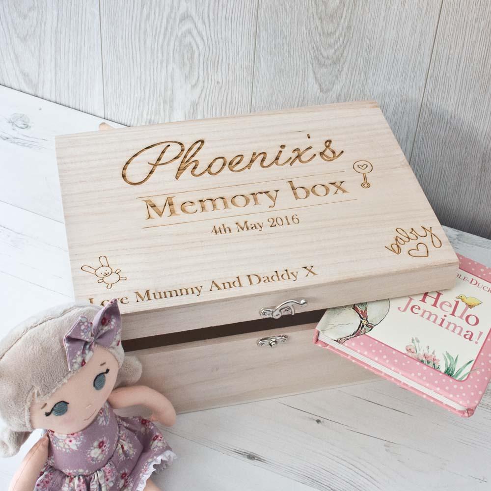 Boite souvenirs enfants et bébé