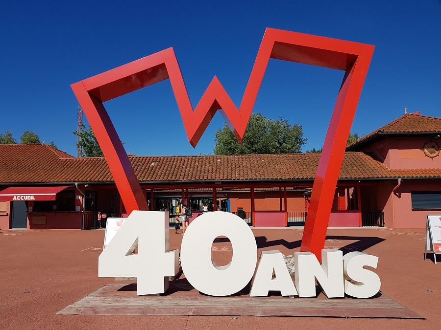 Nouveautés 2020 de Walibi Rhône-Alpes - Entrée du parc