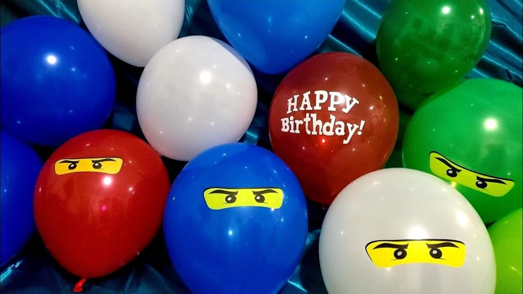 Ballon ninjago anniversaire enfant