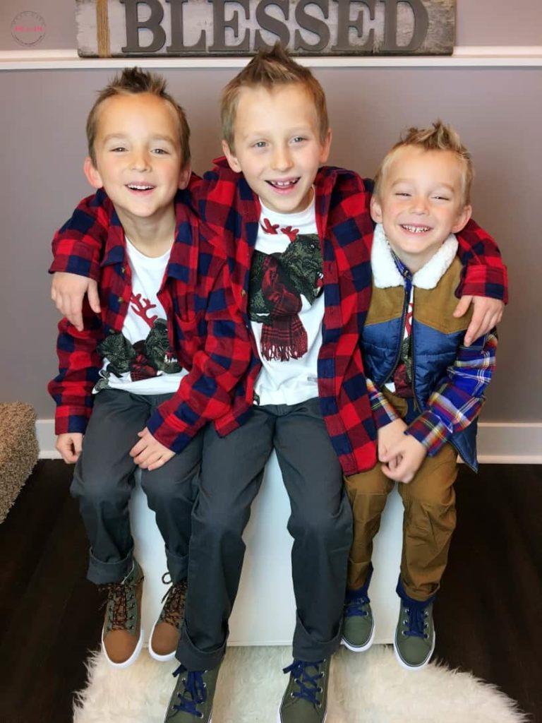 Quelle tenue de noel pour les enfants garçons